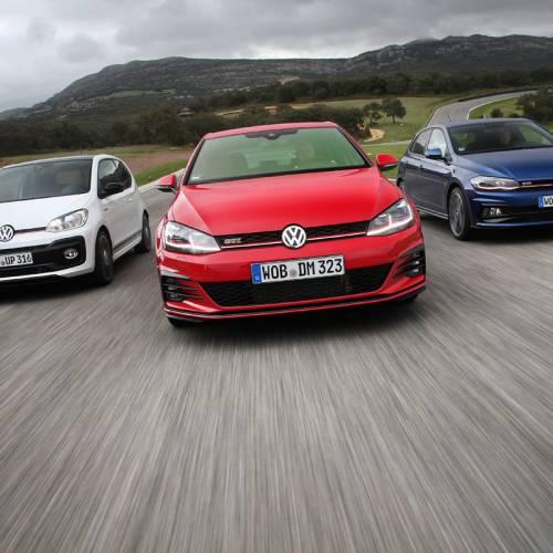 Prueba de los GTI de Volkswagen: un día tras su volante
