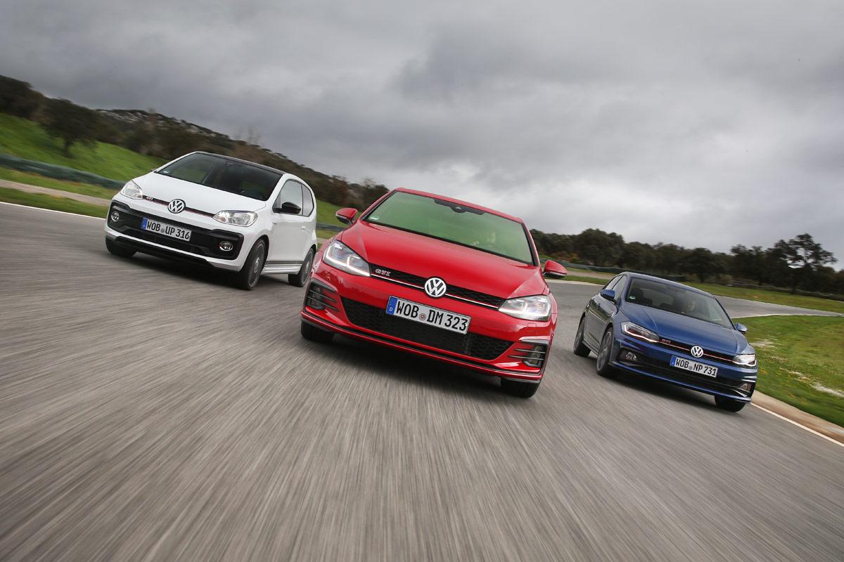 Prueba de los GTI de Volkswagen: un día tras su volante (fotos)