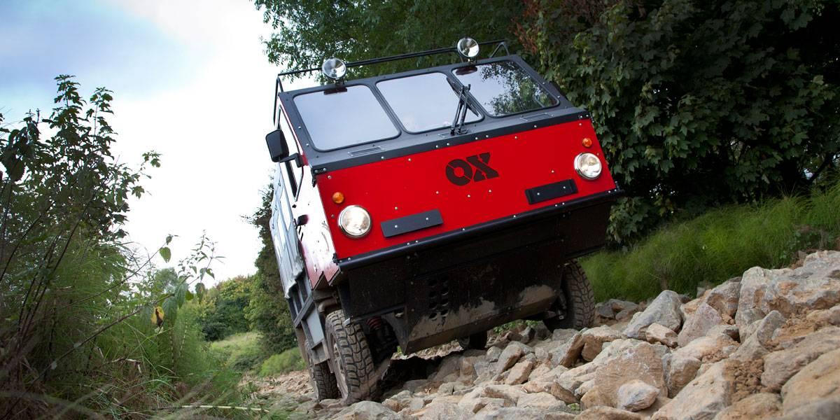 Ox, el camión que se monta en 12 horas