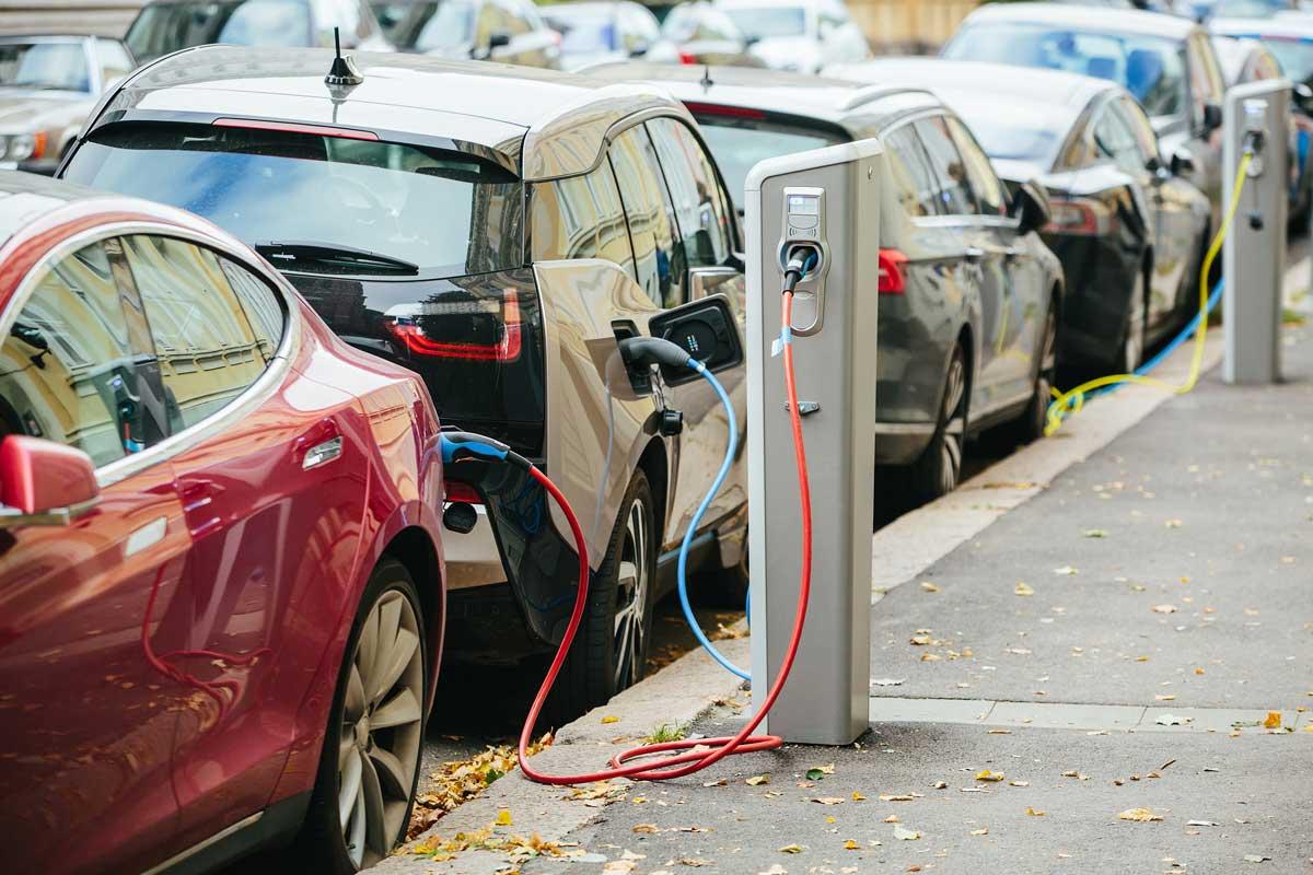 Puntos de carga coches eléctricos