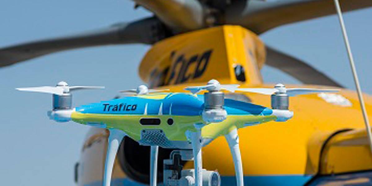 Los drones de la DGT también podrán multarte
