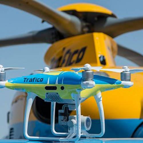 Operación salida puente de mayo: los drones también te vigilan