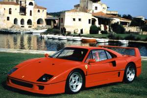 Ferrari F40 - Glotón
