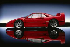Ferrari F40 - A vueltas con el nombre