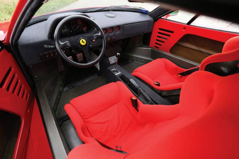 Ferrari F40 - Sin lujos