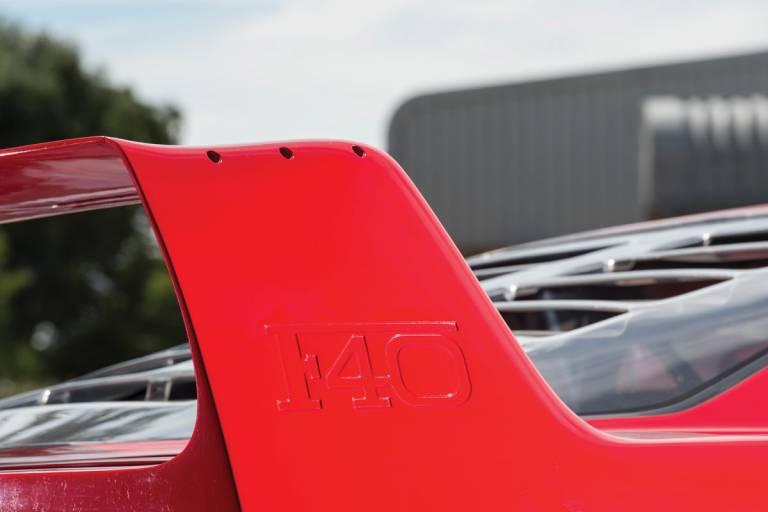 Ferrari F40 - El detalle