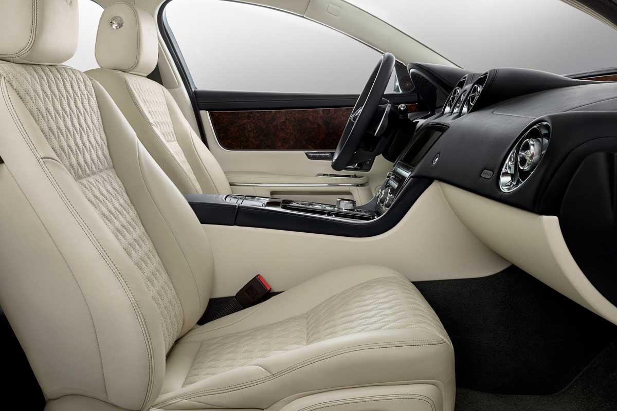 Jaguar XJ50, tapicería asientos