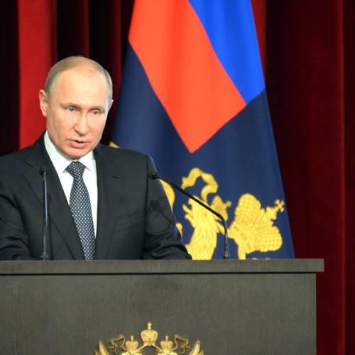 """La nueva limusina de Putin """"aprueba"""" los crash-test"""