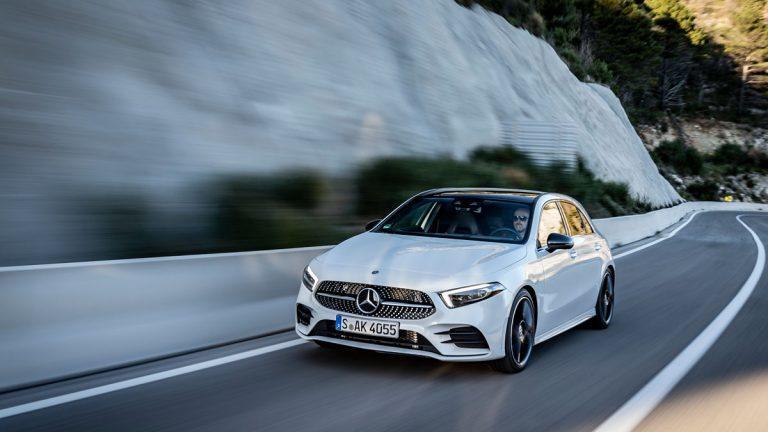 Mercedes-Benz Clase A 2018, dinámica