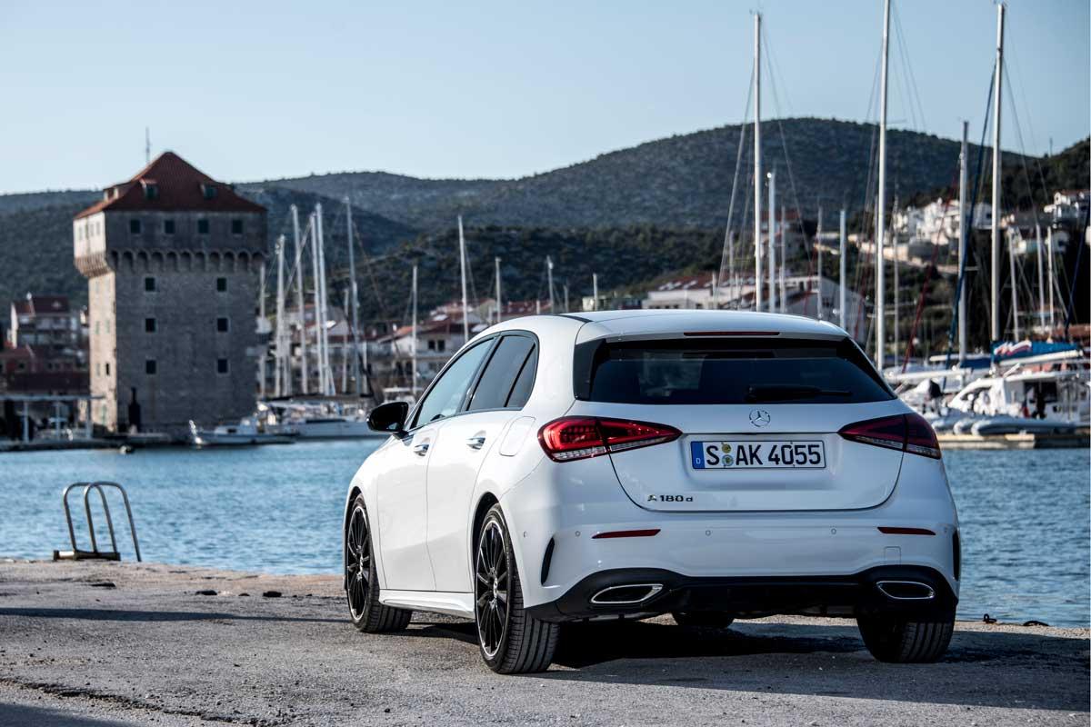 Mercedes-Benz Clase A 2018, primera prueba (fotos)