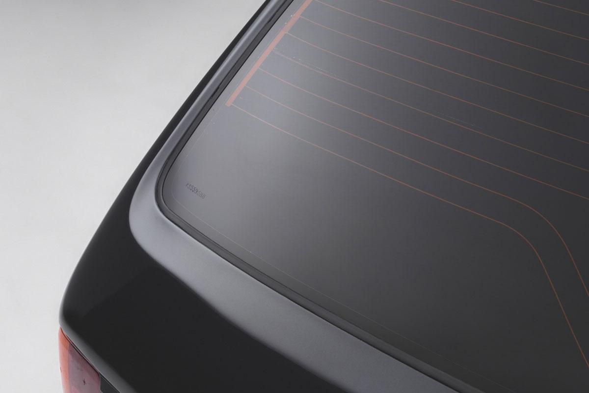 Lunas Peugeot 205 GTI blindado