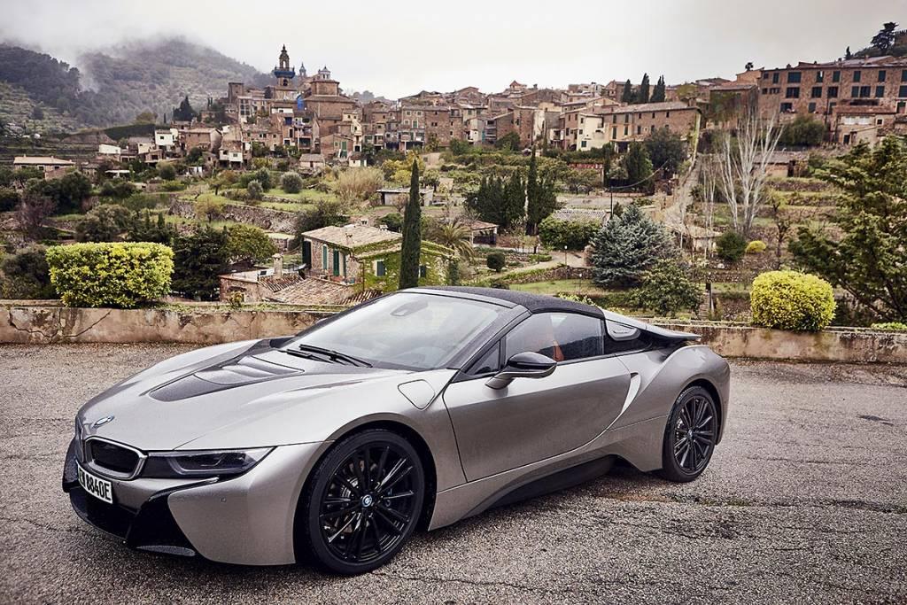 prueba BMW i8 Roadster estática