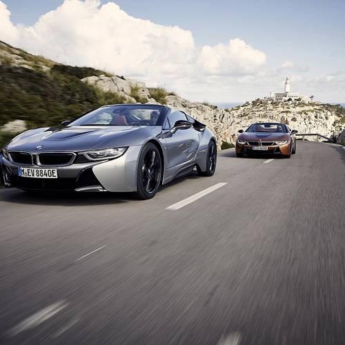 Primera prueba del BMW i8 Roadster