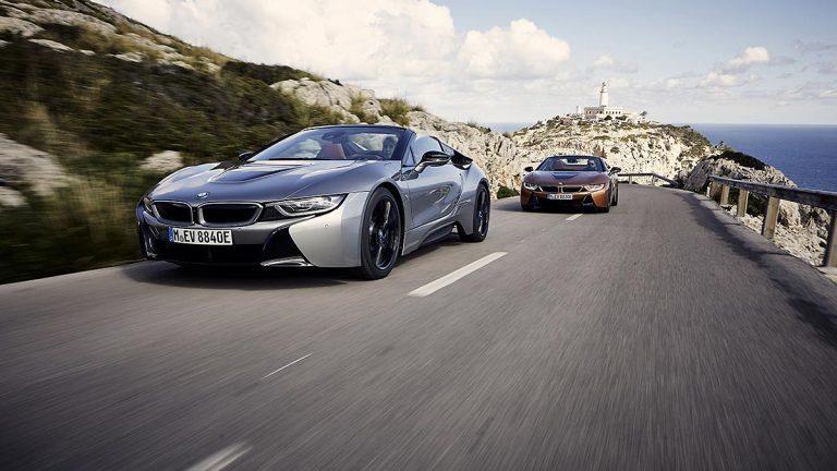 Prueba BMW i8 Roadster en acción