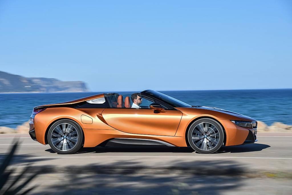 prueba BMW i8 Roadster barrido