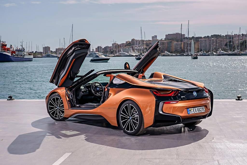 prueba BMW i8 Roadster puertas