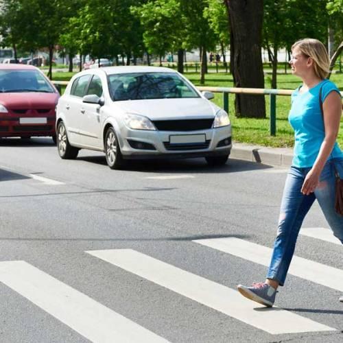 Los conductores, responsables de más del 80% de los atropellos