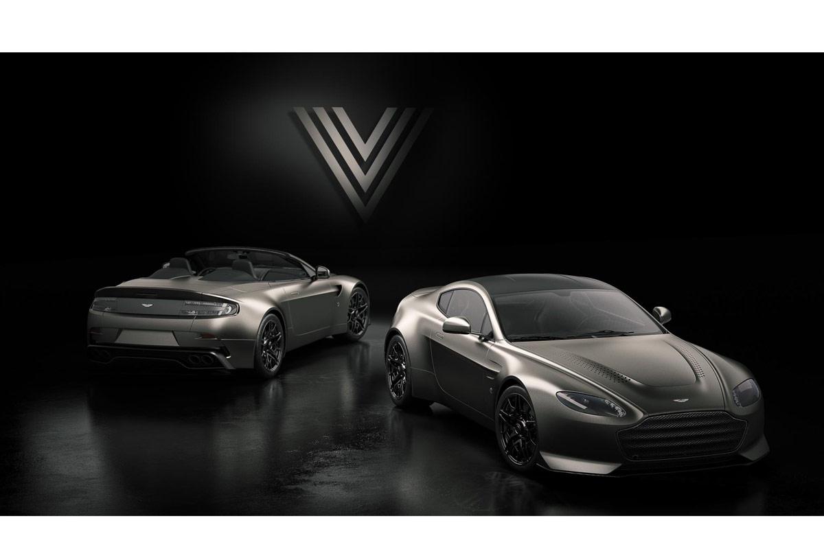 Aston Martin V12 Vantage V600, hermoso homenaje a la historia (fotos)