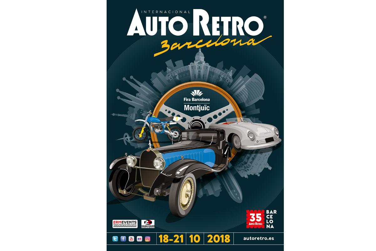 Cartel AutoRetro 2018, nuevas fechas