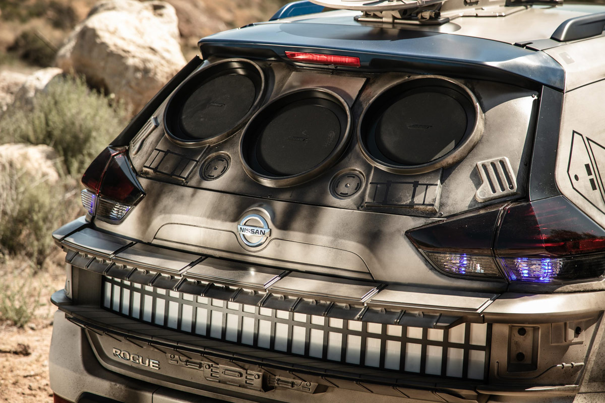 Así sería el Halcón Milenario de la saga Star Wars si fuera un coche (fotos)