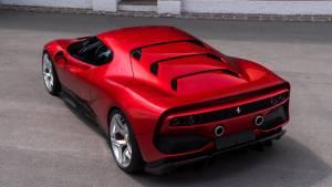 Ferrari SP38, el modelo más exclusivo de la marca italiana (fotos)