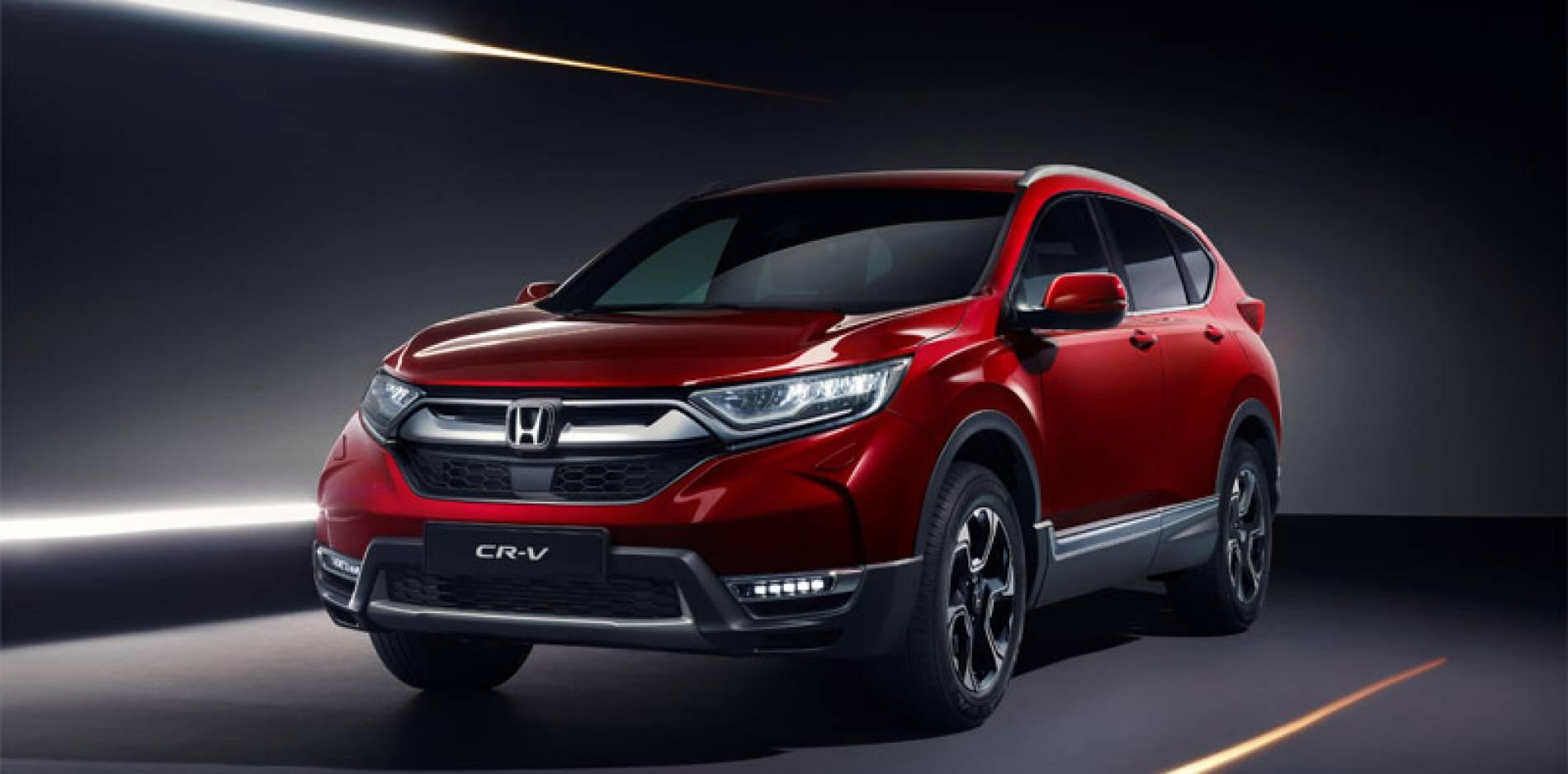 El Honda CR-V 2018 llegará en otoño (y la versión híbrida en 2019)