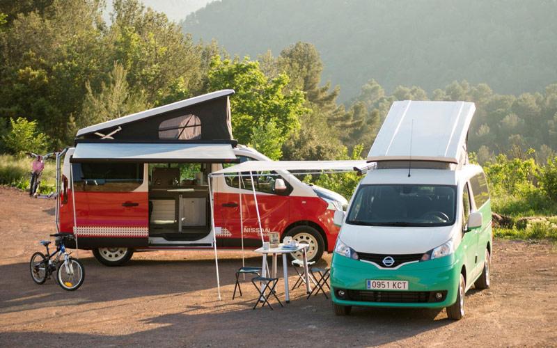 Nissan NV200 Camper y Nissan NV300 Camper, viajar es un placer (fotos)