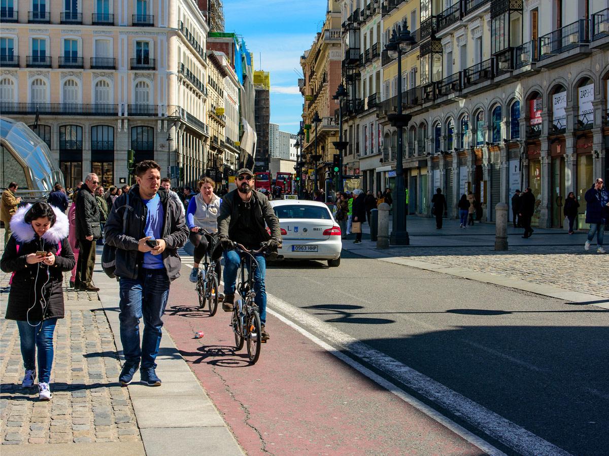 Normativa circulación Madrid
