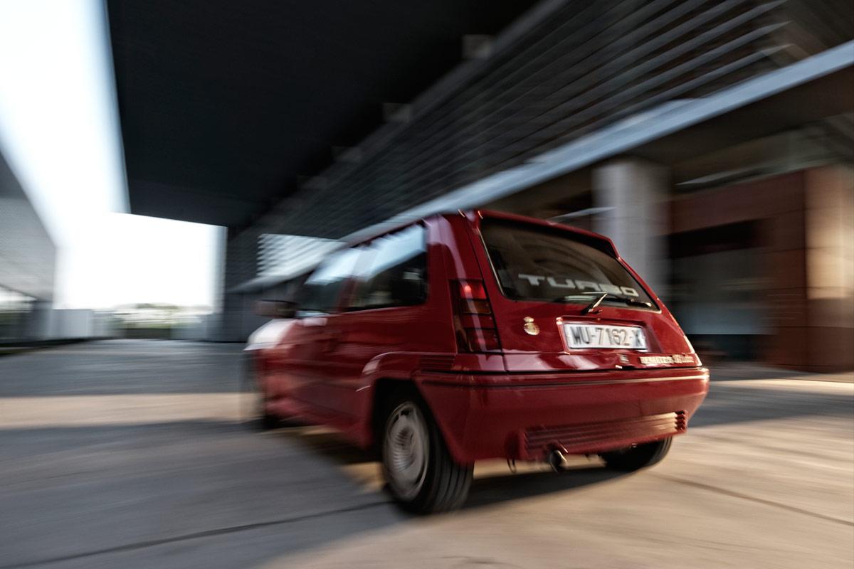 Prueba: Renault Supercinco GT Turbo (fotos)
