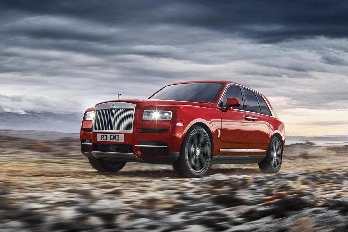 Rolls-Royce Cullinan 2018, superior en todos los sentidos (fotos)