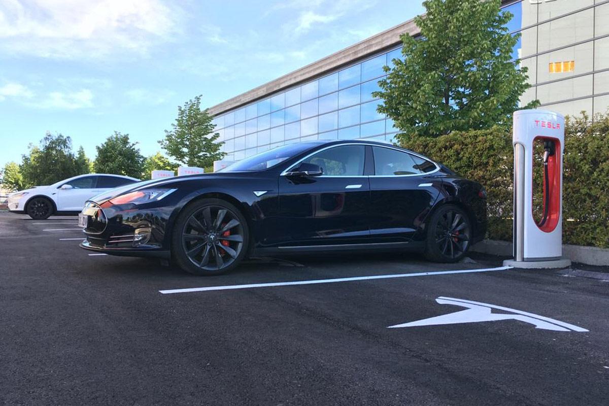 Supercargador Tesla Getafe