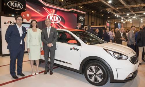 Así funciona WiBLE, el nuevo servicio de coche compartido de Kia y Repsol
