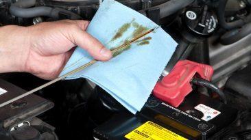 aceite del coche