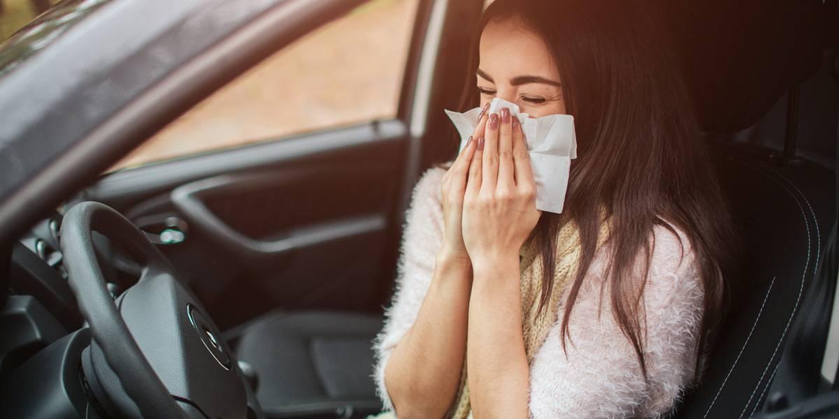 Alergia y conducción: 5 consejos a tener muy en cuenta al volante