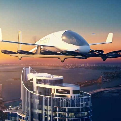 Así será el primer aparcamiento para coches voladores