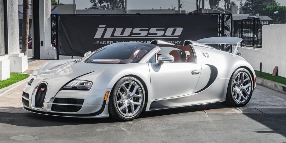 Se pone a la venta el Bugatti Veyron de Arnold Schwarzenegger