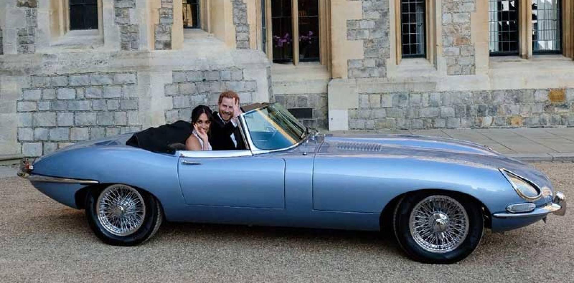 Todos los coches que se usaron en la boda del príncipe Harry y Meghan Markle