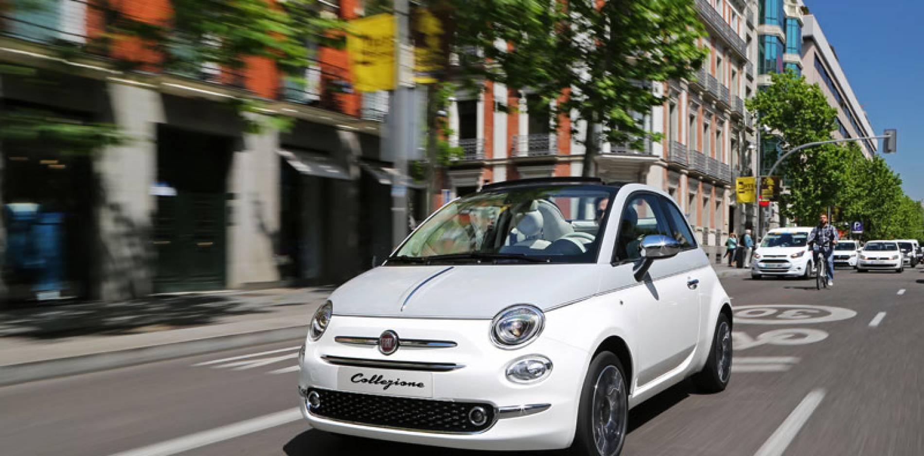 El nuevo Fiat 500 Collezione ya desfila por las calles de Madrid