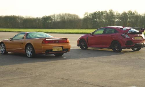 Leyenda vs modernidad: Honda NSX vs. Honda Civic Type R ¿quién ganará?