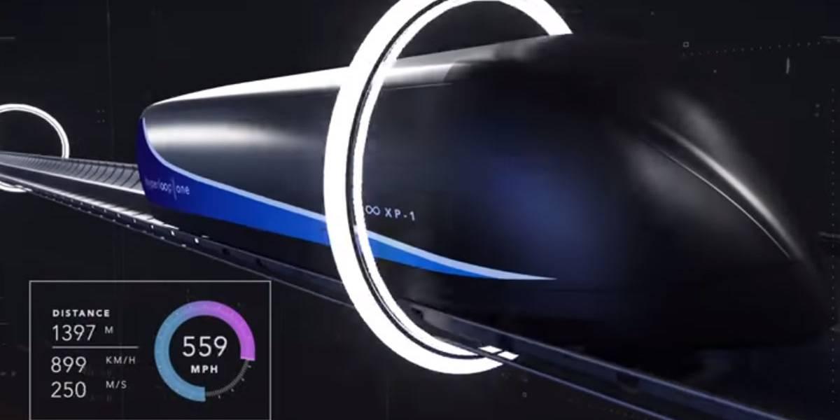 """El tren """"supersónico"""" Hyperloop podría llegar a España"""
