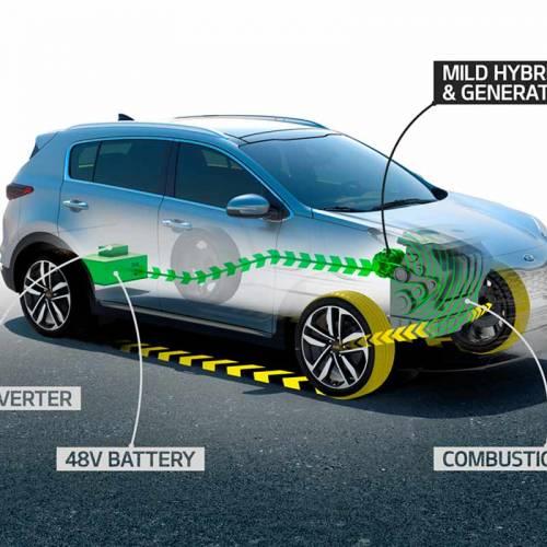 El Kia Sportage lanzará tecnología híbrida diésel a final de año