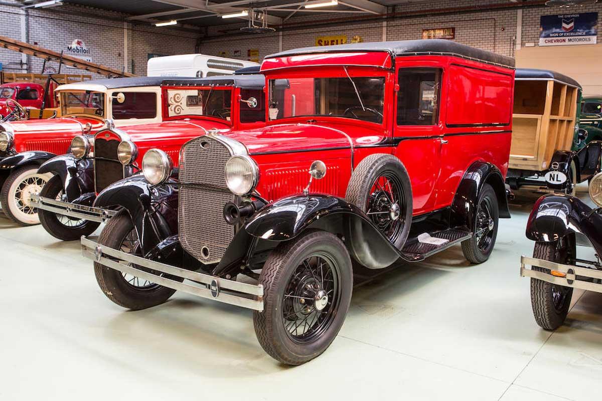 colección coches Ford