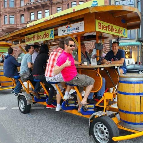 Madrid prohíbe las 'bicibarras' en sus calles