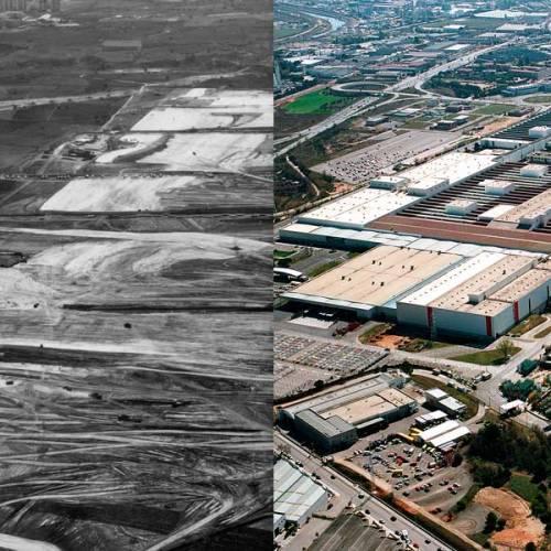 SEAT Martorell: así ha evolucionado la factoría en sus 25 años de historia