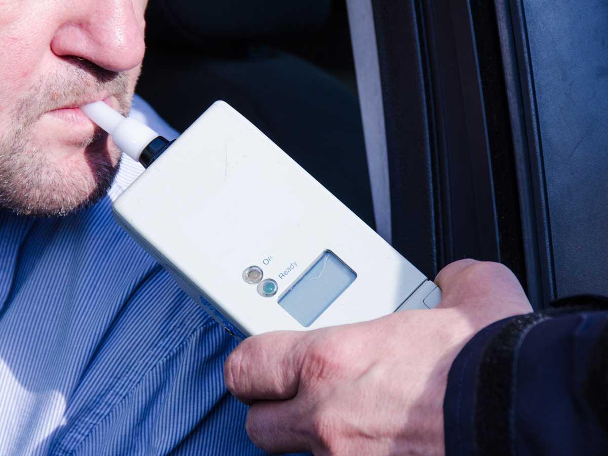 Test de alcoholemia, infracciones de tráfico, cárcel
