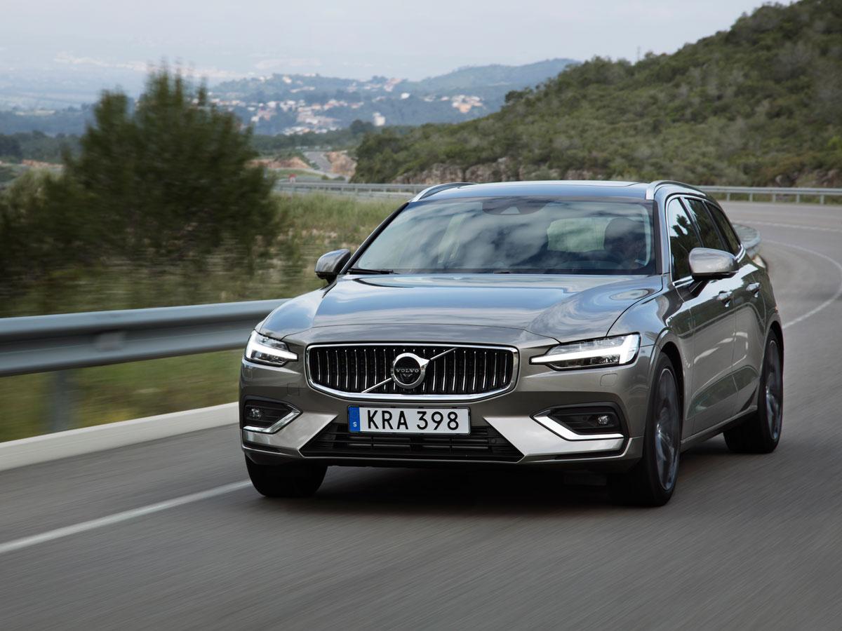Volvo V60 2018 prueba