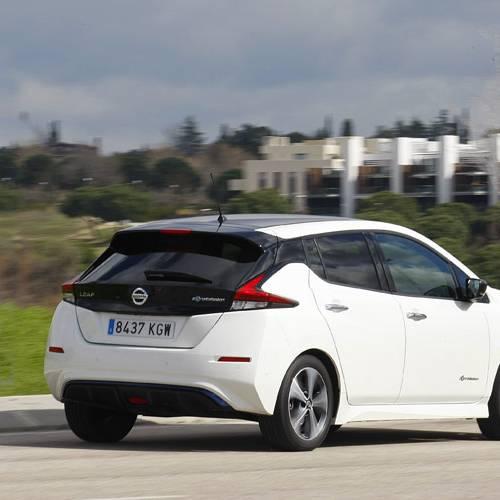 Prueba Nissan Leaf 40 kWh Tekna, jugando al futuro
