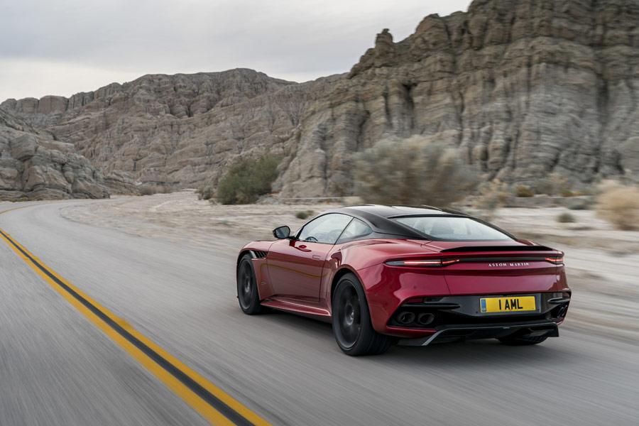Aston Martin DBS Superleggera, al detalle