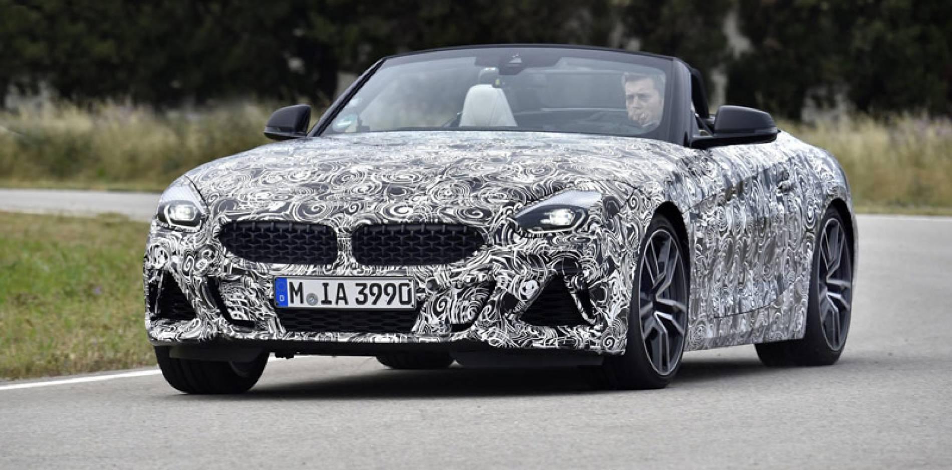 El BMW Z4 se deja ver en la fase final de su desarrollo