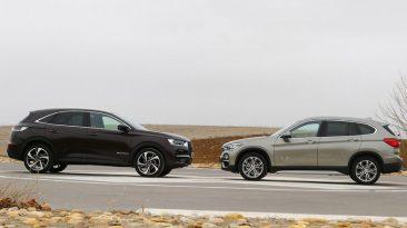 Comparativa DS 7 Crossback vs BMW X1